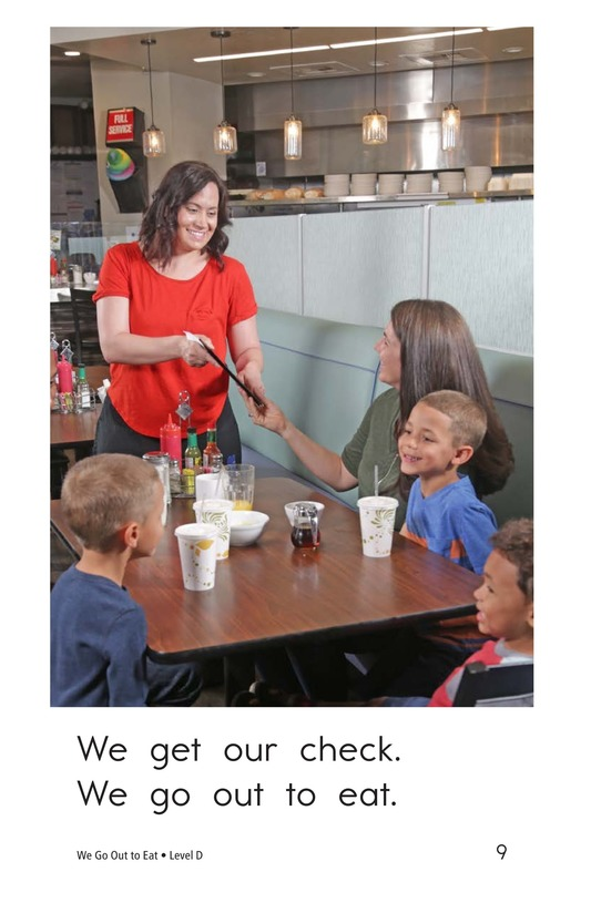 Book Preview For We Go Out to Eat Page 9