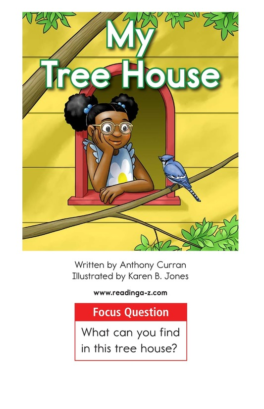 Book Preview For My Tree House Page 1