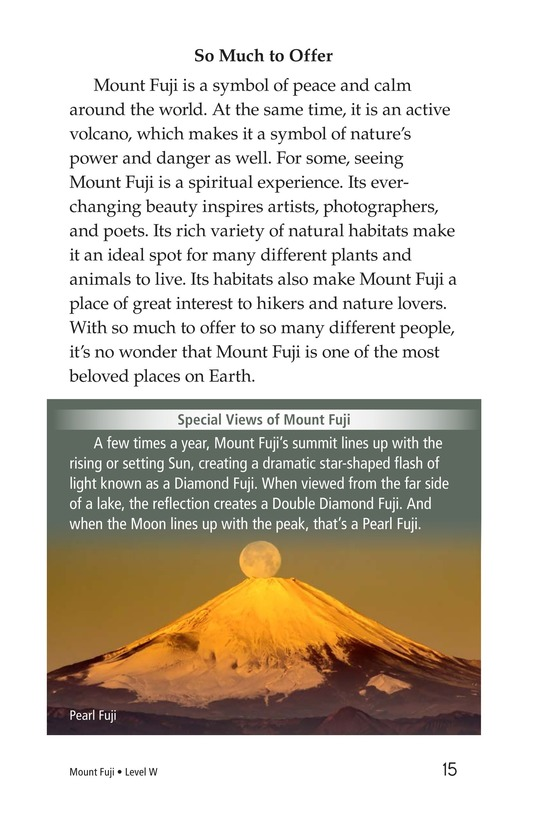 Book Preview For Mount Fuji Page 15