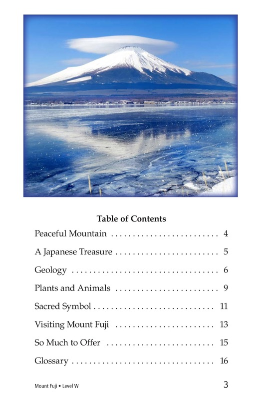 Book Preview For Mount Fuji Page 3