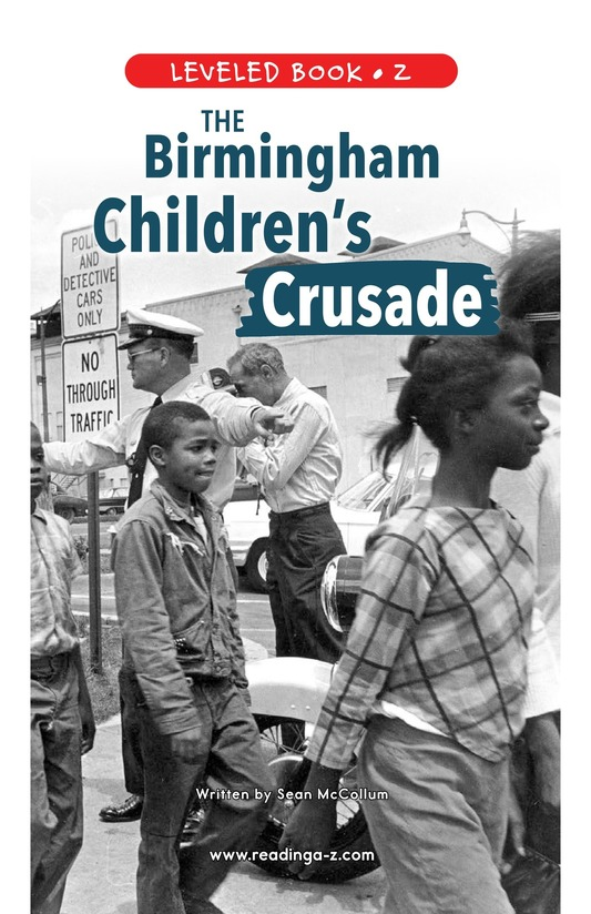 Book Preview For The Birmingham Children's Crusade Page 0