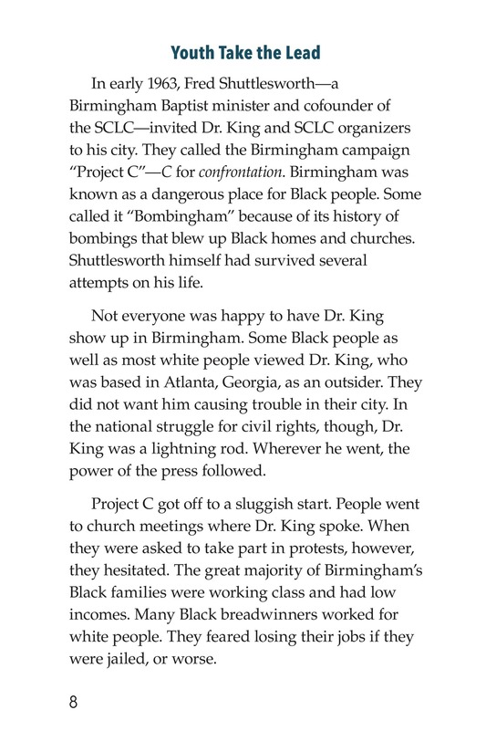 Book Preview For The Birmingham Children's Crusade Page 8