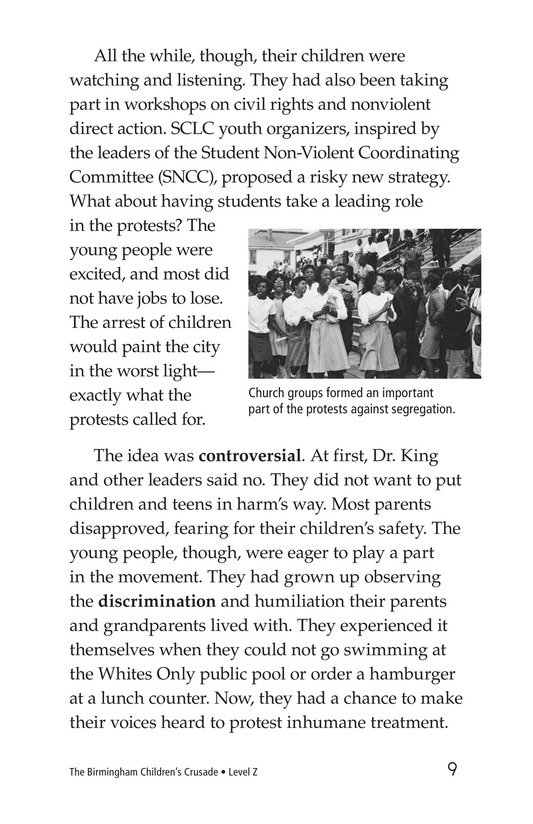 Book Preview For The Birmingham Children's Crusade Page 9