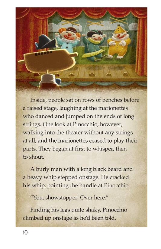 Book Preview For Pinocchio, Part 1 Page 10