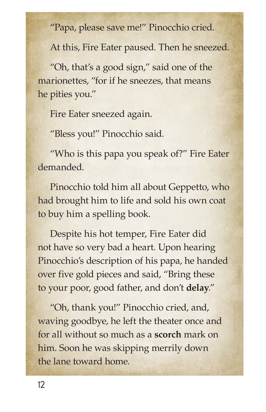 Book Preview For Pinocchio, Part 1 Page 12