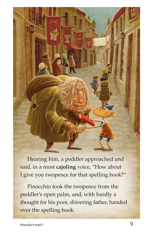 Book Preview For Pinocchio, Part 1 Page 9