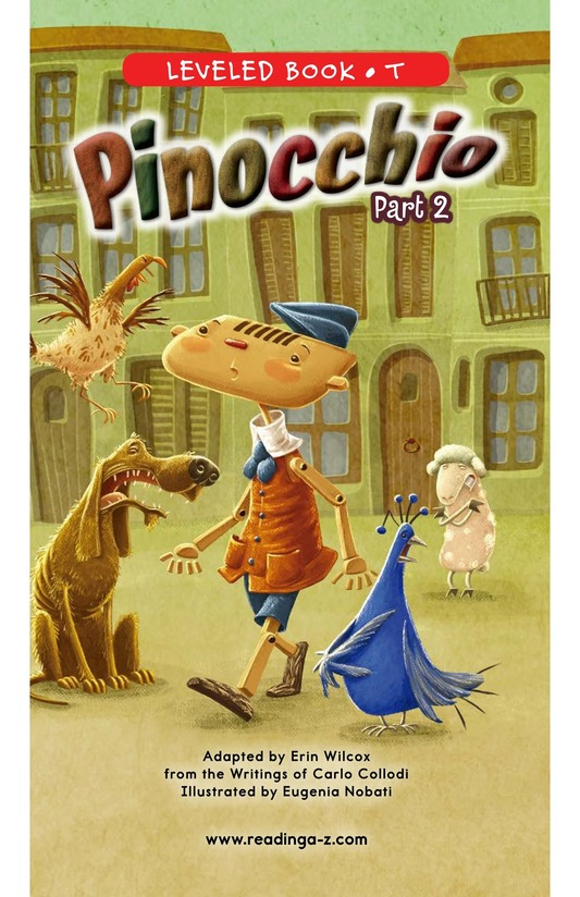 Book Preview For Pinocchio, Part 2 Page 0