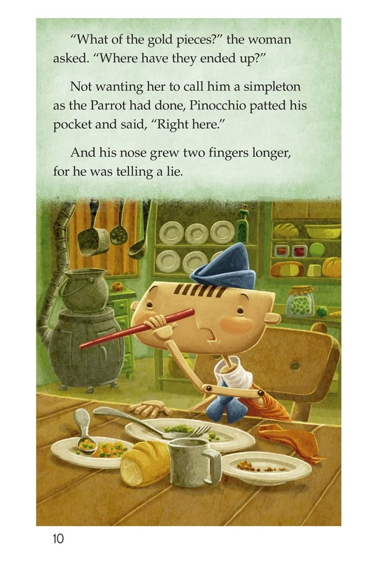 Book Preview For Pinocchio, Part 2 Page 10