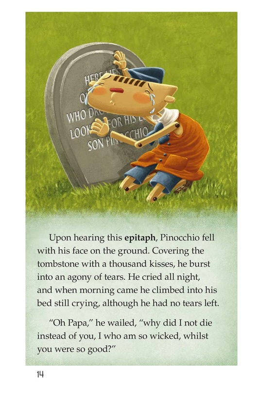 Book Preview For Pinocchio, Part 2 Page 14