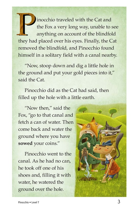 Book Preview For Pinocchio, Part 2 Page 3