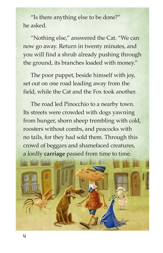Book Preview For Pinocchio, Part 2 Page 4