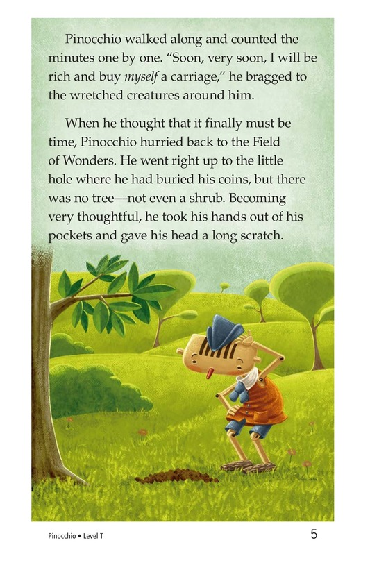 Book Preview For Pinocchio, Part 2 Page 5