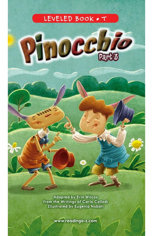 Book Preview For Pinocchio, Part 3 Page 0