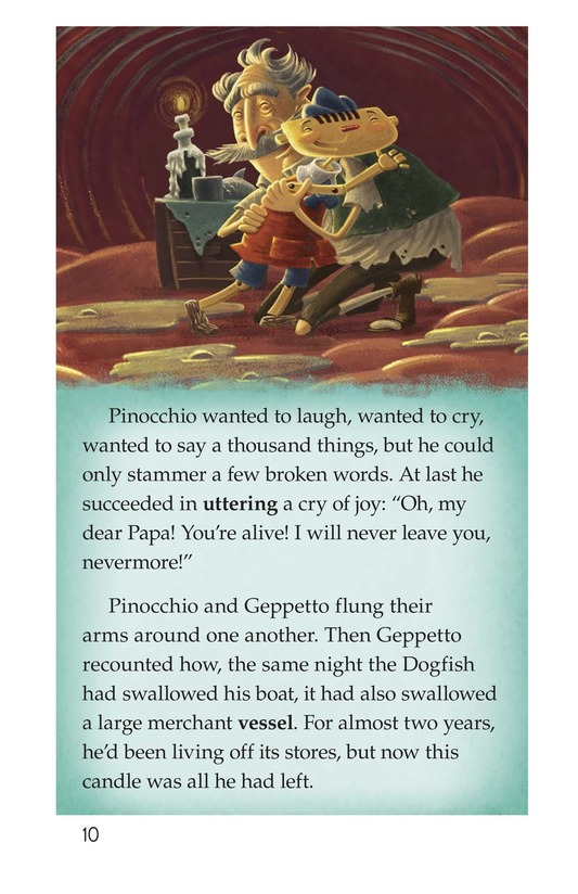 Book Preview For Pinocchio, Part 3 Page 10