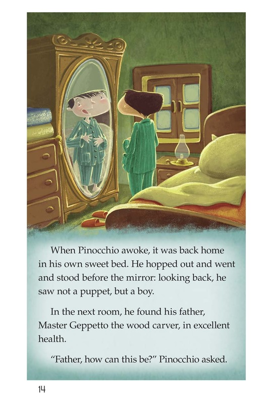 Book Preview For Pinocchio, Part 3 Page 14