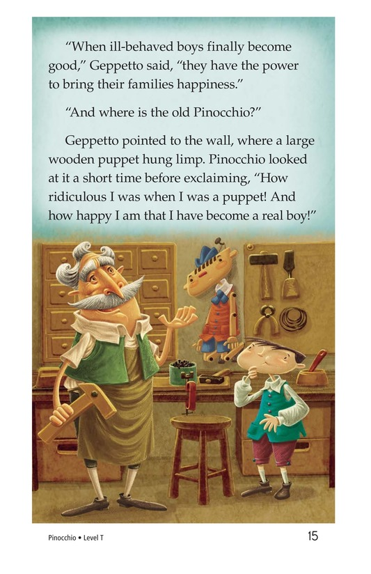 Book Preview For Pinocchio, Part 3 Page 15