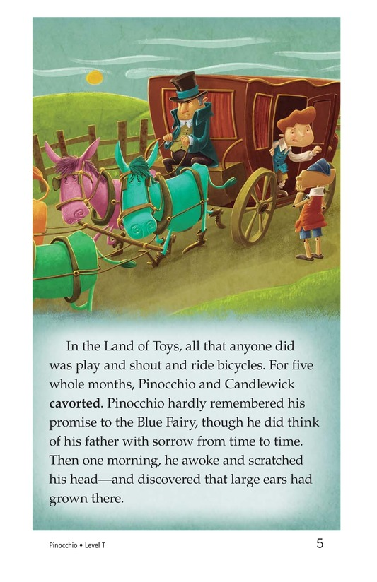 Book Preview For Pinocchio, Part 3 Page 5