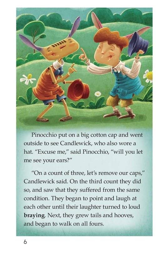 Book Preview For Pinocchio, Part 3 Page 6