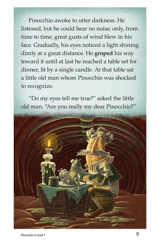 Book Preview For Pinocchio, Part 3 Page 9