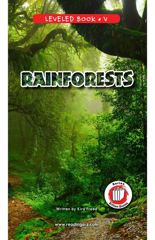 Book Preview For Rainforests Page 0