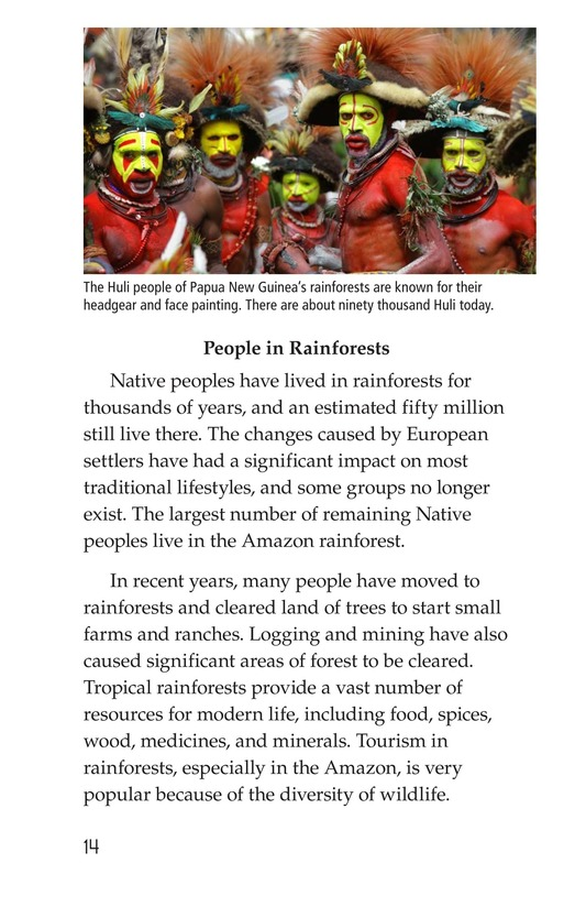 Book Preview For Rainforests Page 14