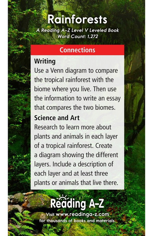 Book Preview For Rainforests Page 17