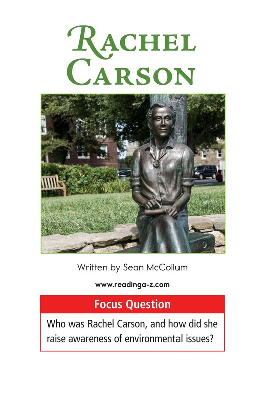 Book Preview For Rachel Carson Page 1