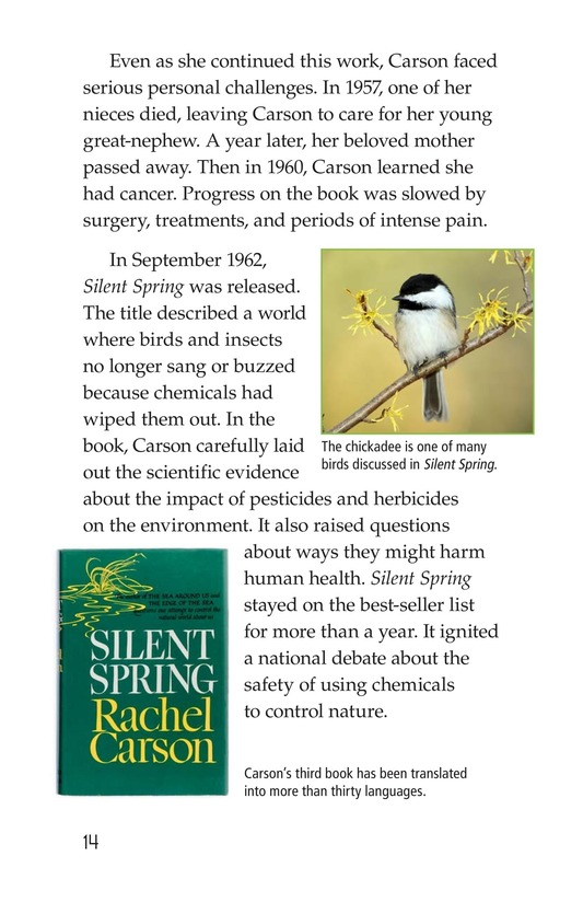 Book Preview For Rachel Carson Page 14