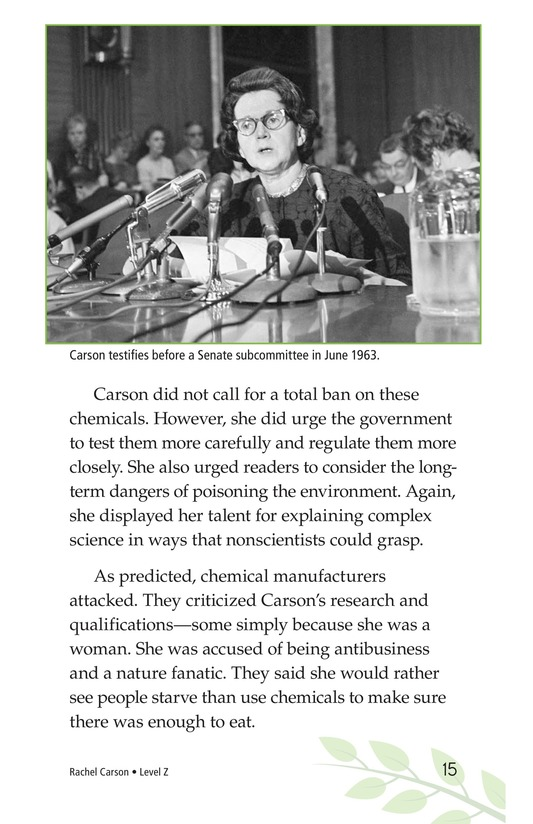 Book Preview For Rachel Carson Page 15