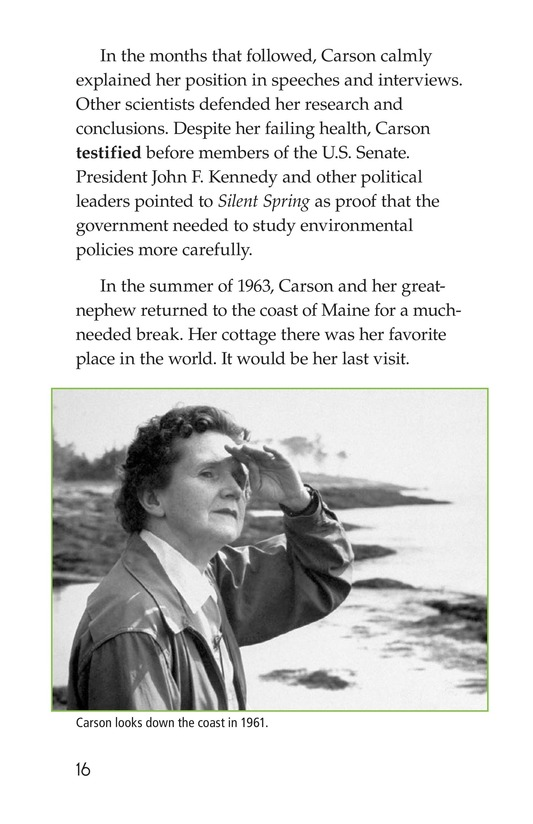 Book Preview For Rachel Carson Page 16
