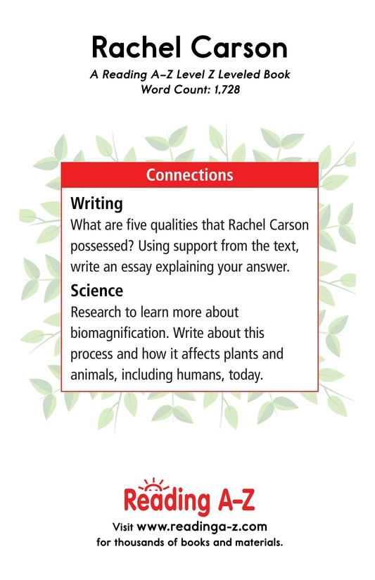 Book Preview For Rachel Carson Page 21