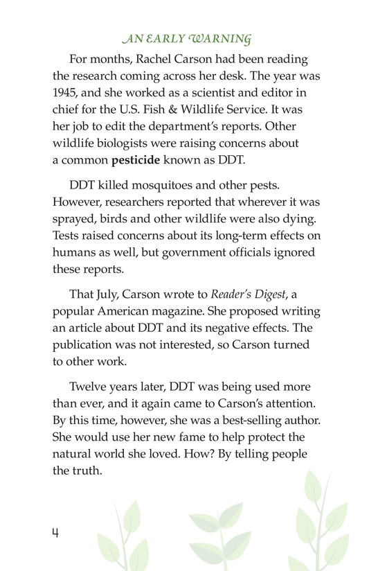 Book Preview For Rachel Carson Page 4
