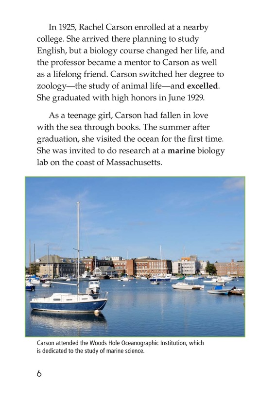 Book Preview For Rachel Carson Page 6