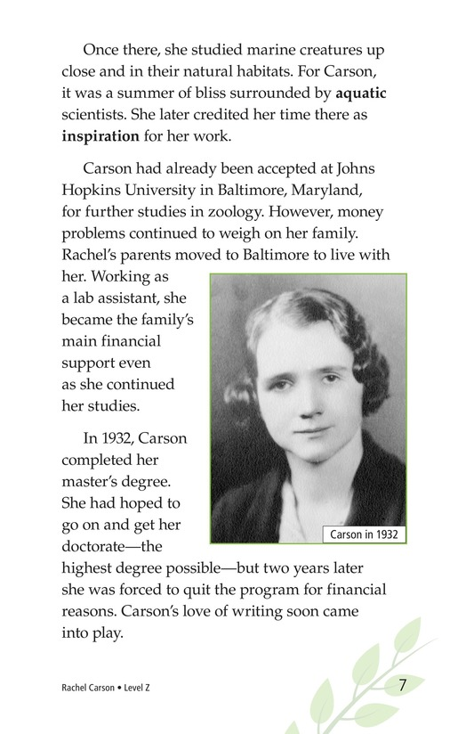 Book Preview For Rachel Carson Page 7