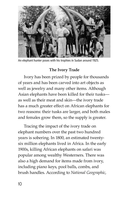 Book Preview For Ivory or Elephants Page 10