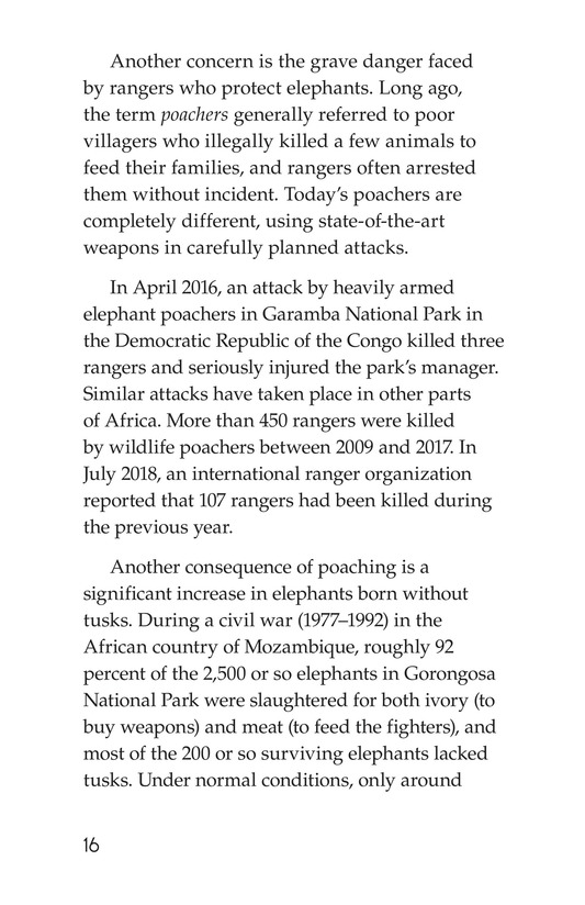 Book Preview For Ivory or Elephants Page 16