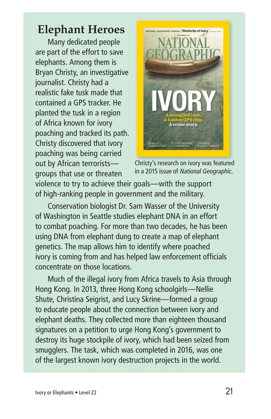Book Preview For Ivory or Elephants Page 21