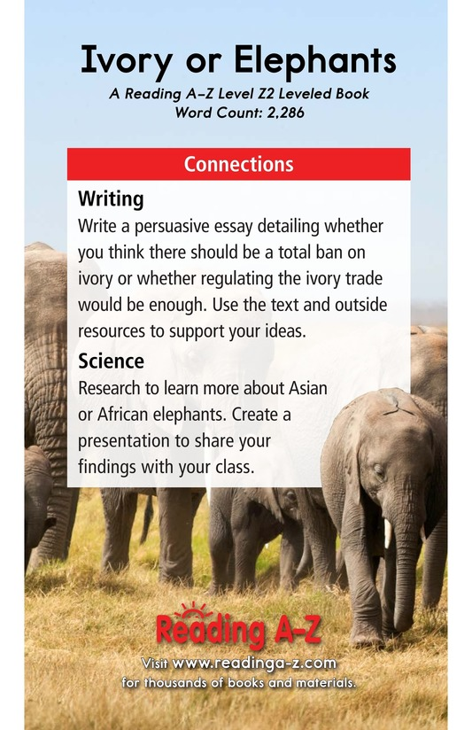 Book Preview For Ivory or Elephants Page 25