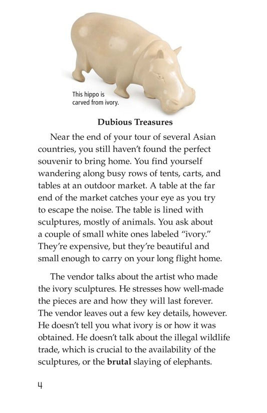 Book Preview For Ivory or Elephants Page 4