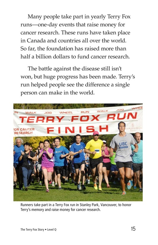 Book Preview For The Terry Fox Story Page 15