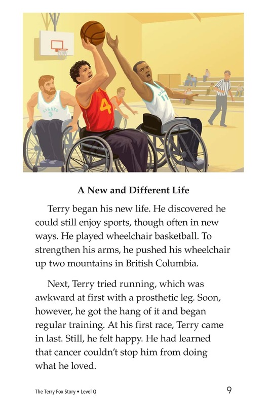 Book Preview For The Terry Fox Story Page 9