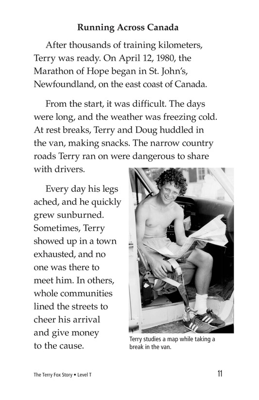 Book Preview For The Terry Fox Story Page 11