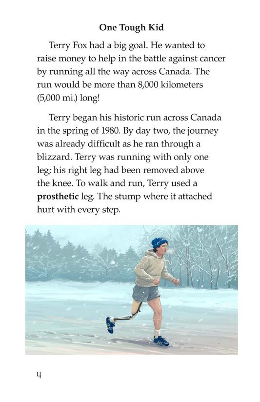 Book Preview For The Terry Fox Story Page 4