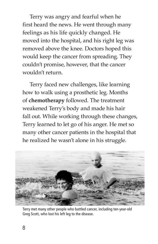 Book Preview For The Terry Fox Story Page 8
