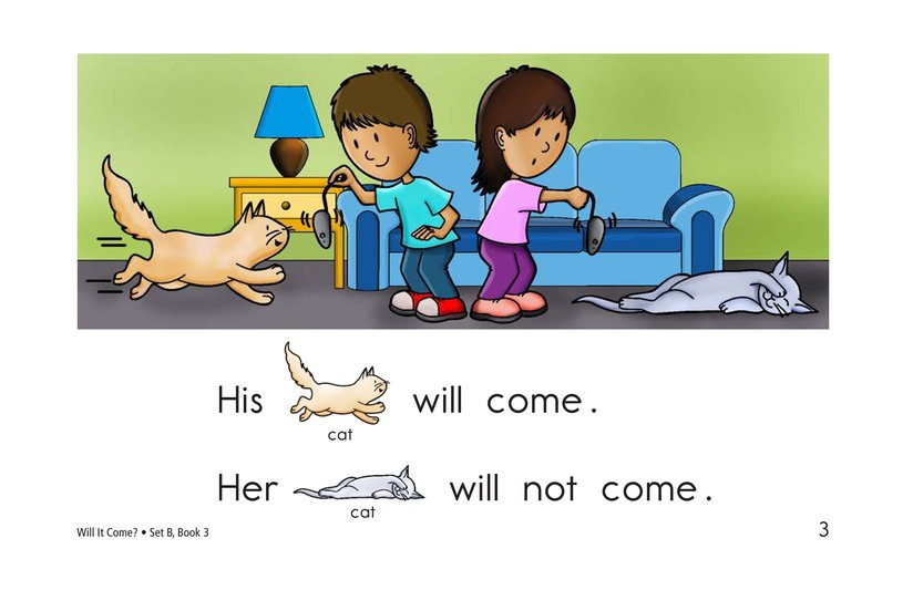 Book Preview For Will It Come? Page 3