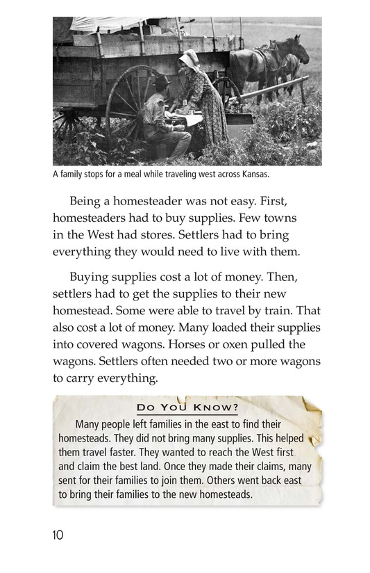 Book Preview For The Homestead Act Page 10