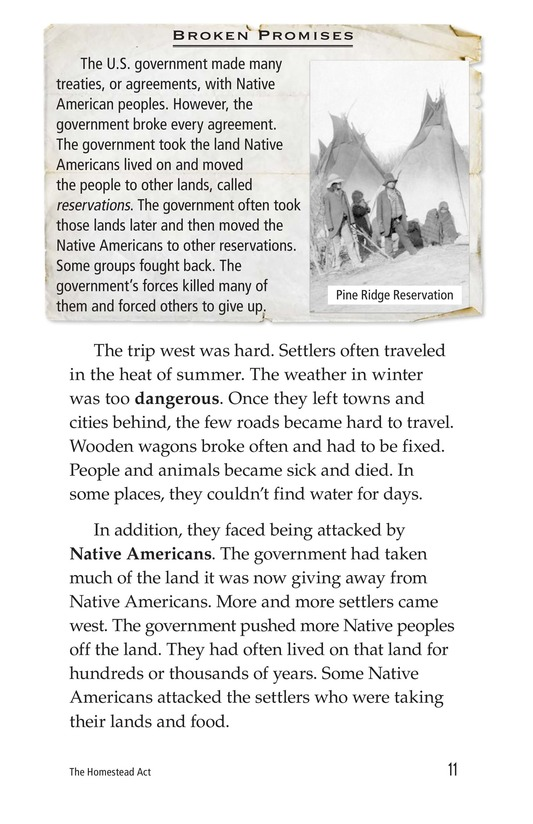 Book Preview For The Homestead Act Page 11