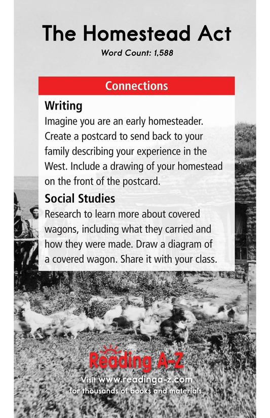 Book Preview For The Homestead Act Page 17