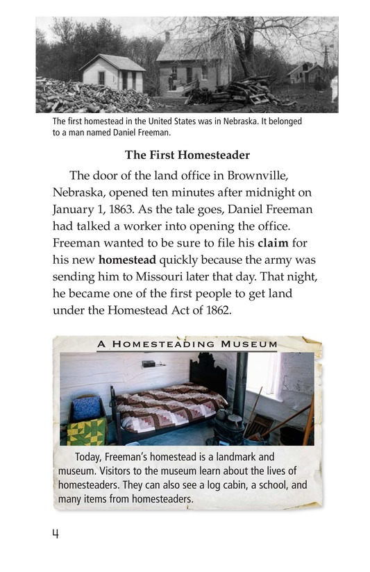 Book Preview For The Homestead Act Page 4