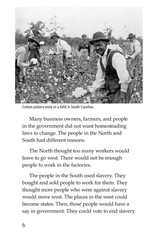 Book Preview For The Homestead Act Page 6